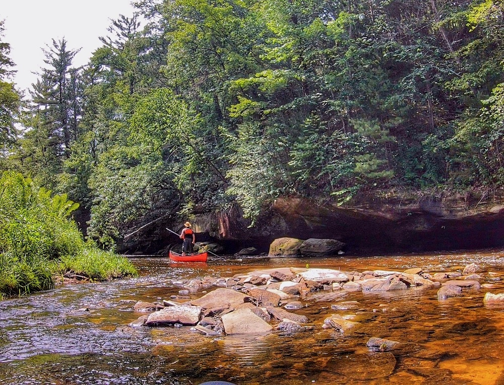Black River State Forest Halls Creek canoeing