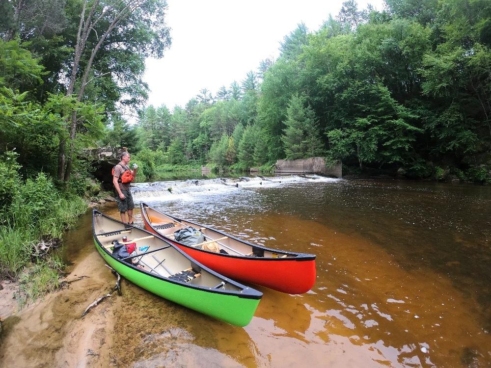 Halls Creek rapids