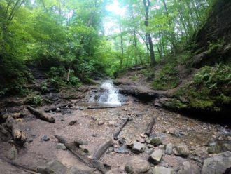 Parfrey's Glen waterfall
