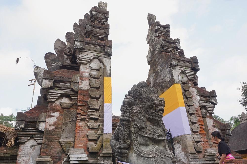 five Ubud Bali selfies