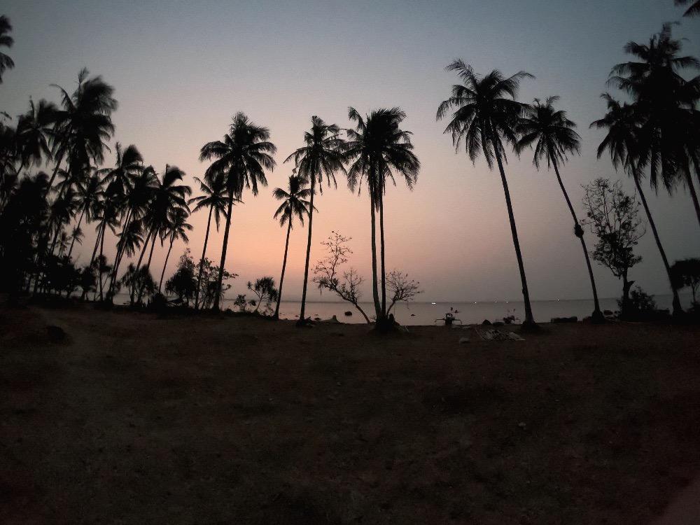 Java sunset