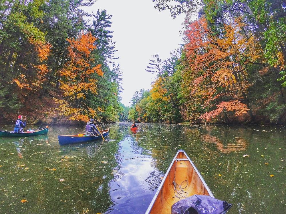 Top ten adventures Mirror Lake Wisconsin