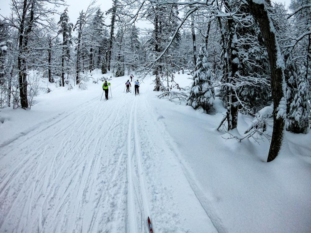 Marquette Michigan ski race