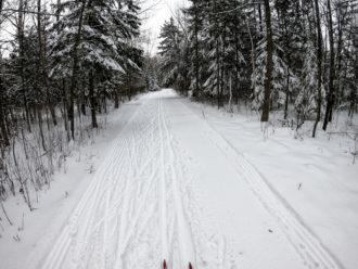 Oak Hill Trail Neshota County Park