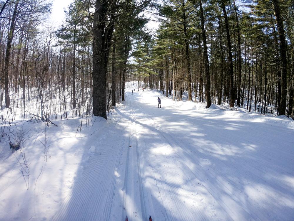 Wisconsin northwoods skiing