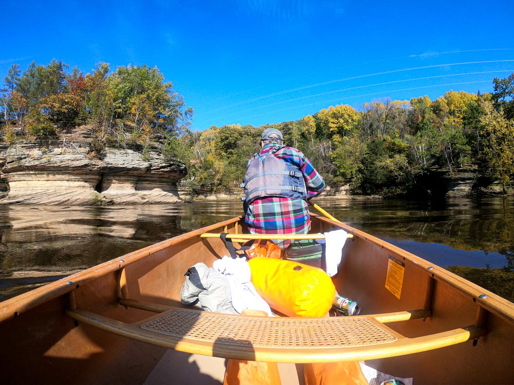 Wisconsin River lower Dells