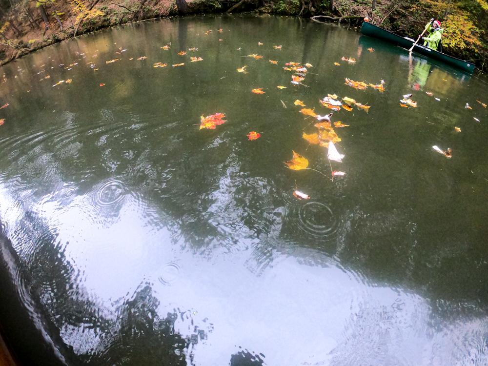Mirror Lake fall foliage