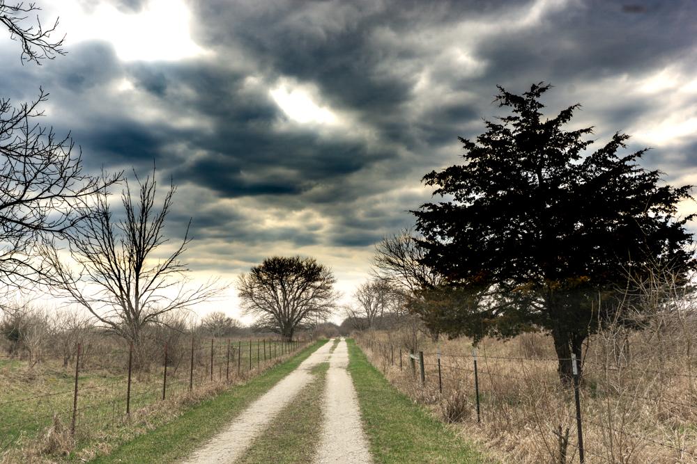 Social distancing hiking Midewin