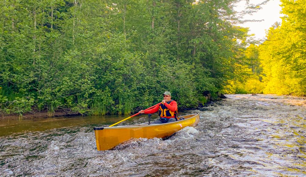 Bois Brule rapids