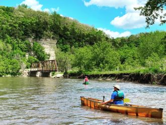 Upper Iowa River paddling