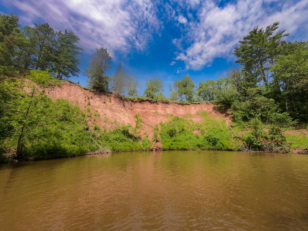 Wisconsin red cliffs