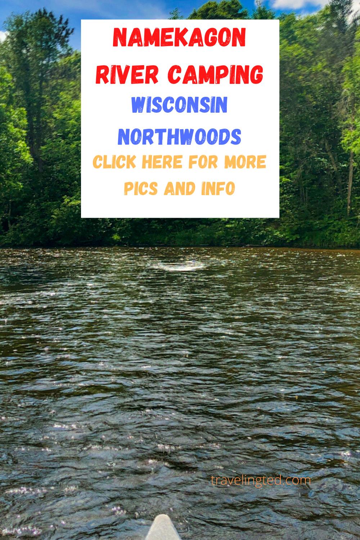 Namekagon River pin