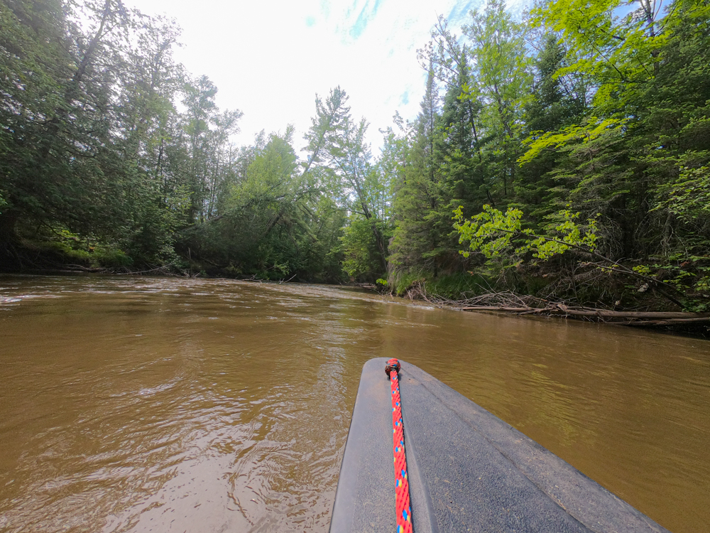 Canoeing rifles