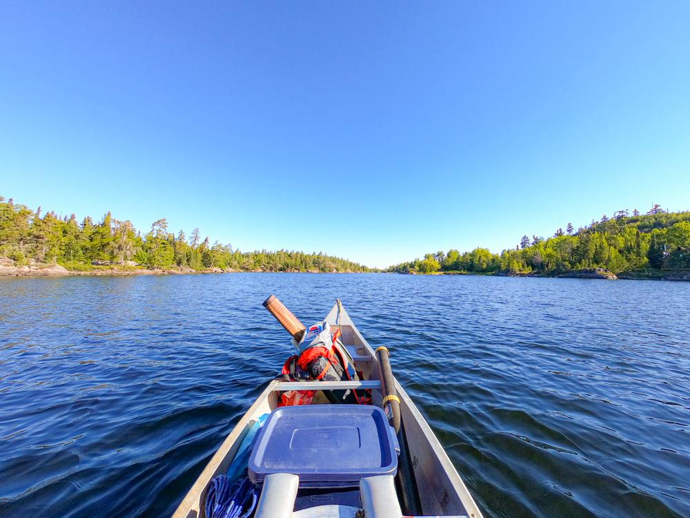 Boundary Waters Minnesota canoe trip