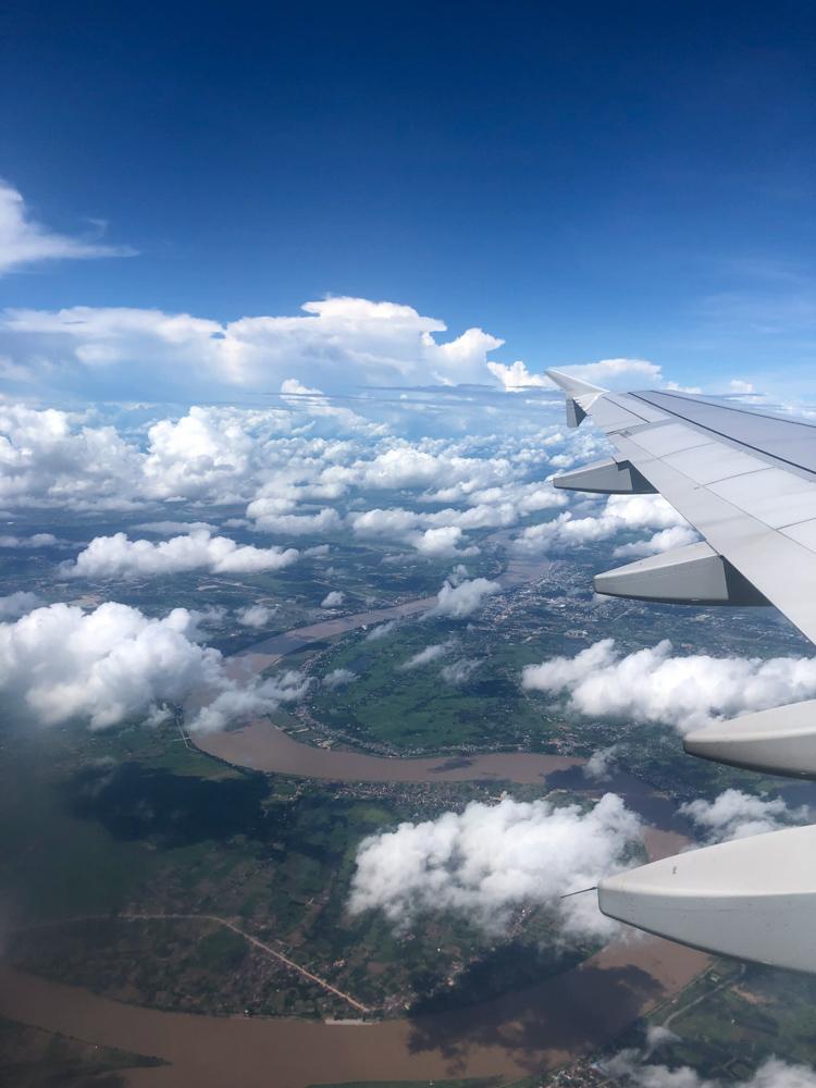 Leaving Laos