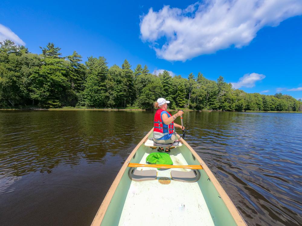 Canoe cross draw