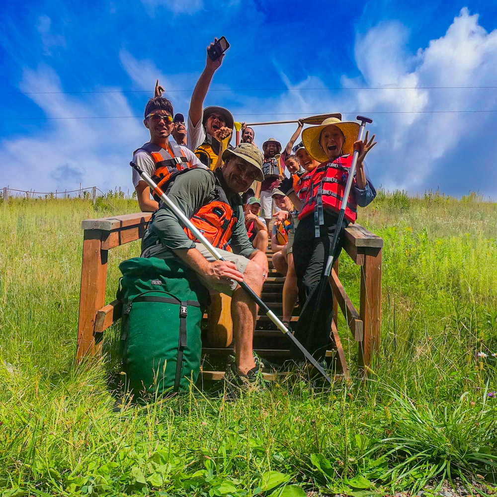 Bull Moose Patrol group