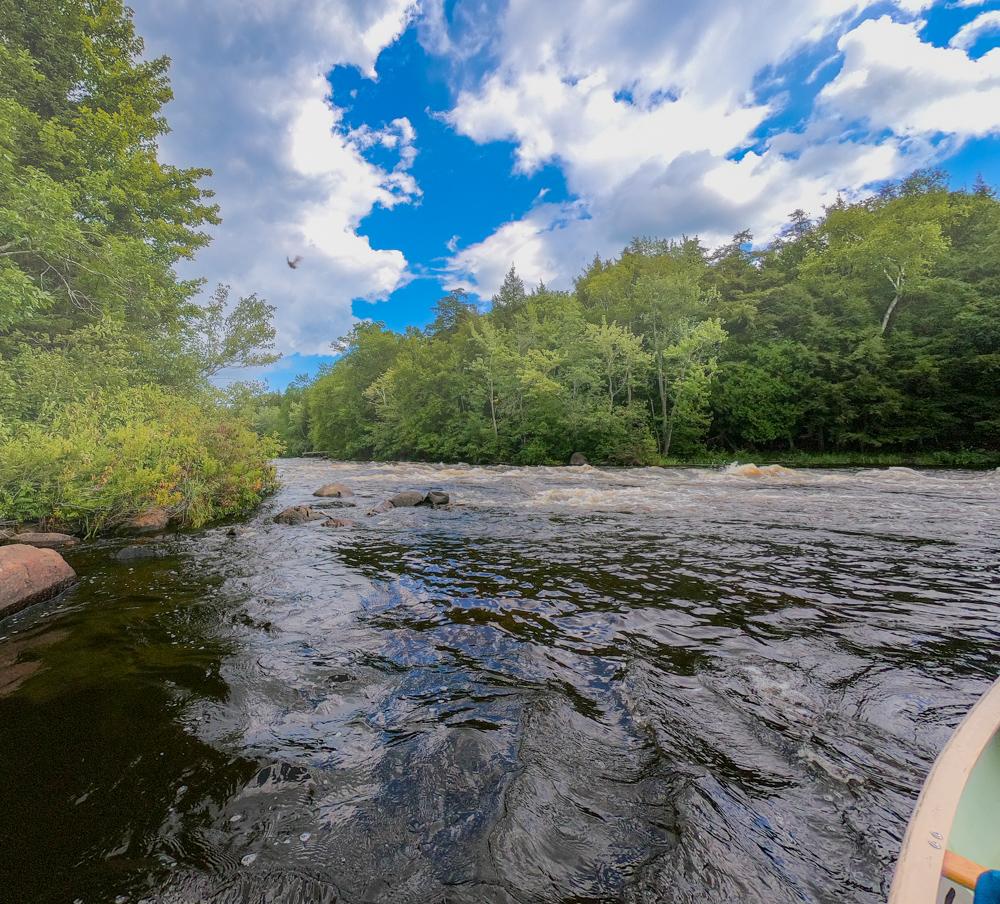 Flambeau River canoeing