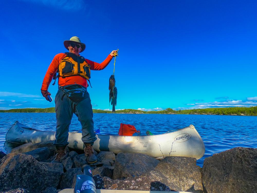 BWCA smallmouth bass fishing