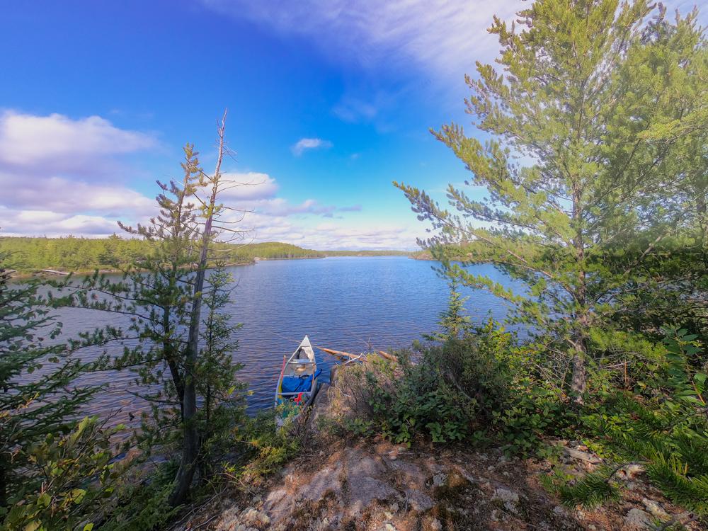 BWCA campsite view