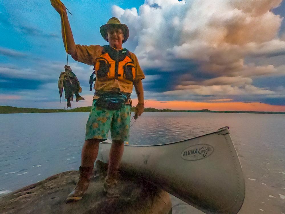 Lake Saganaga fishing