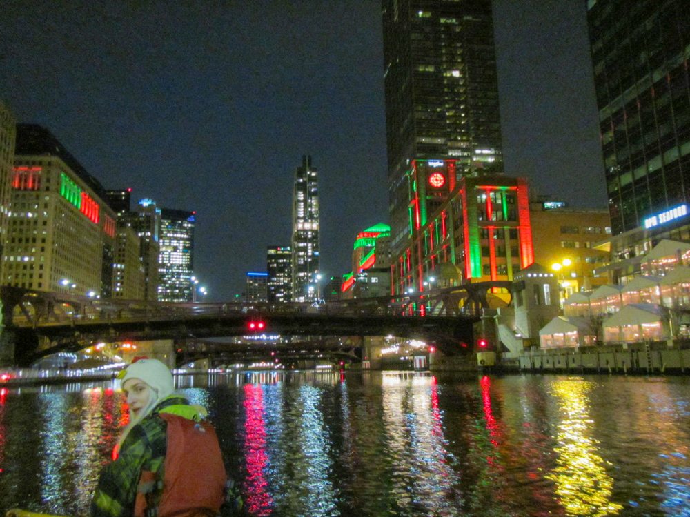 Chicago River canoeing