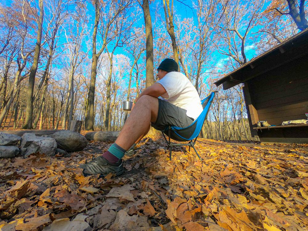 Kettle Moraine backpacking shelter