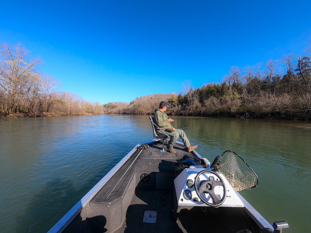Bill Smith fishing guide Missouri