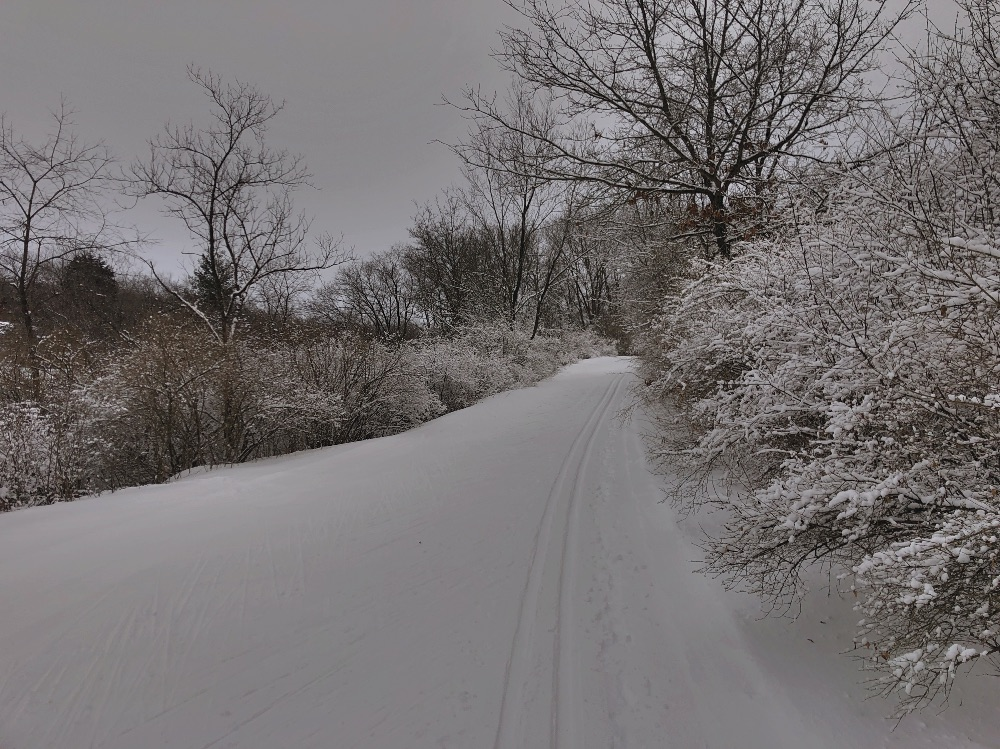 South Kettle Moraine skiing