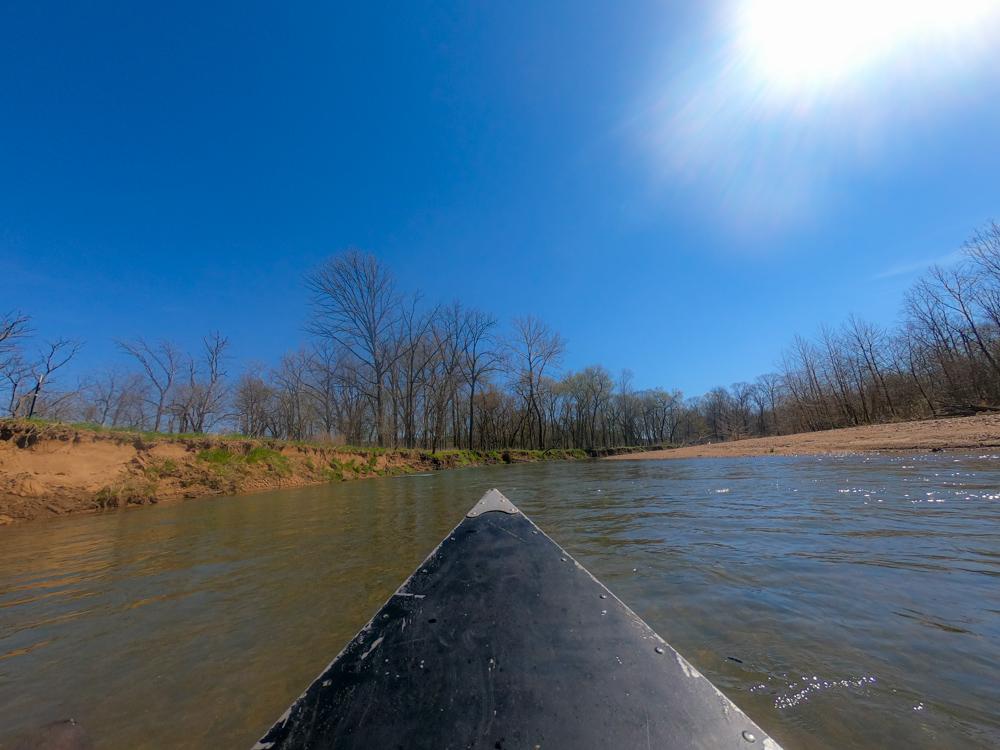 Eleven Point River Missouri canoeing
