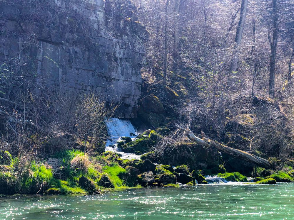 Eleven Point River float trips spring