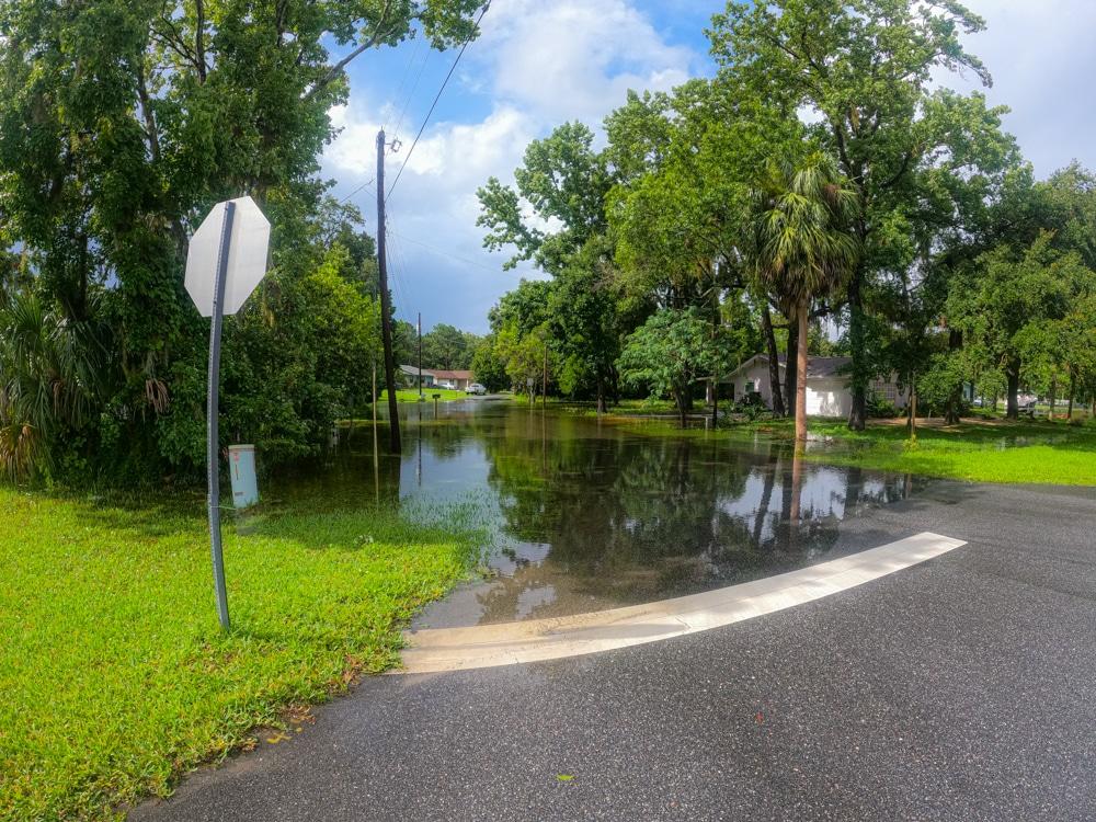Tropical Storm Elsa flooding