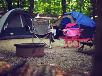 Long-term campsite